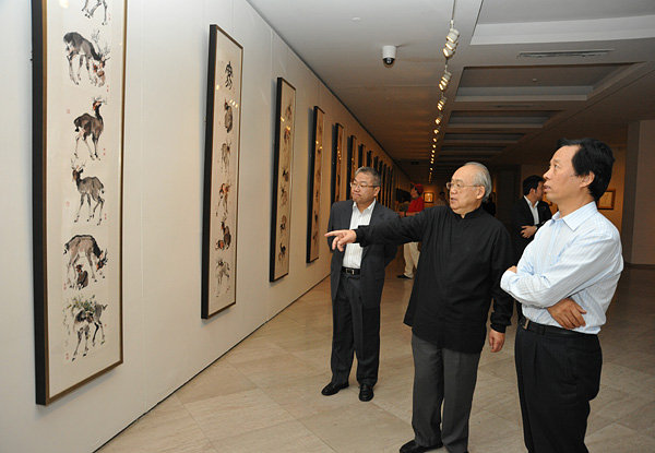 李延声艺术作品展在上海美术馆完美谢幕